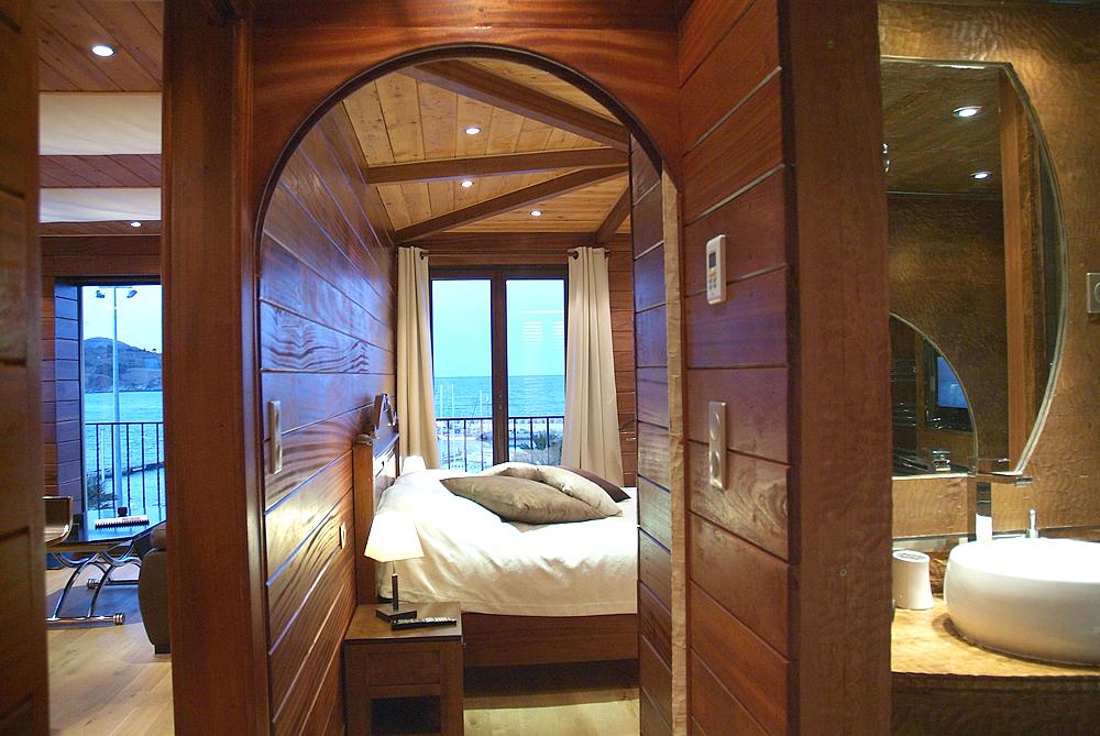 Chambre en bois exotique - calligari shop
