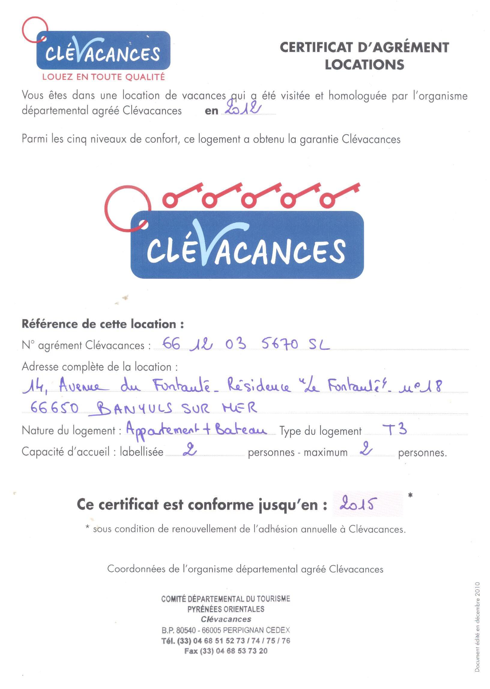 Contrat Type Location Maison De Vacances | Ventana Blog